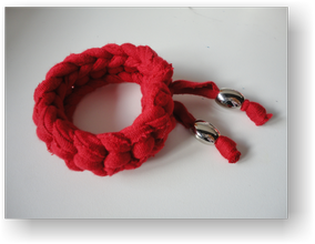 Pulsera tela red-a