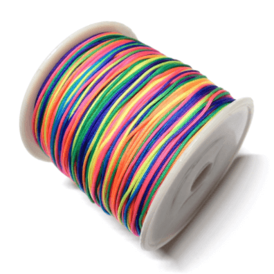Cordón Nylon 0.7mm multicolor