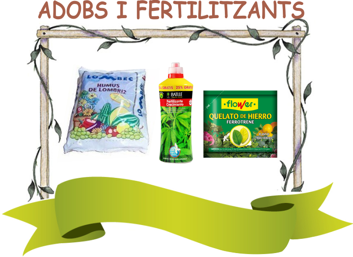 Substrats, adobs i fertilitazants ecològics